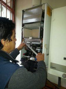 Servicio técnico de calderas Puertas