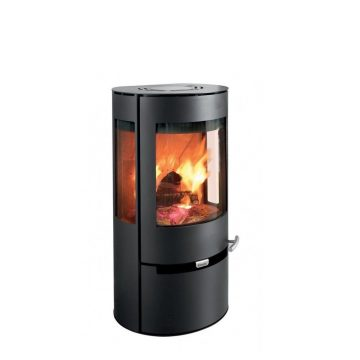 Fire Aduro 9.1, Steel, Black, 6KW